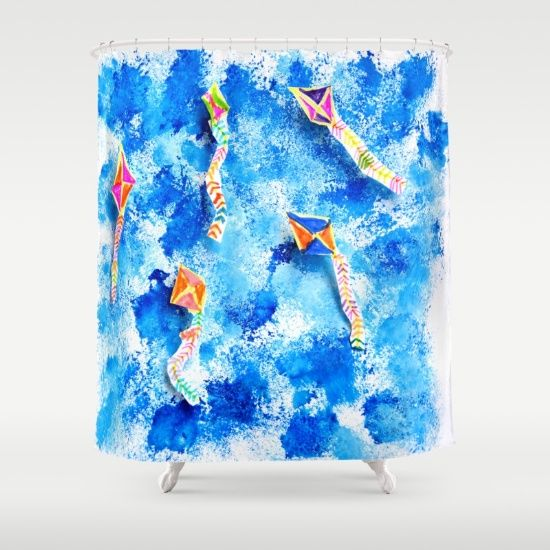 FREE WORLDWIDE #SeasonsGreetings #SaintNick #SantaClause #Scrooge #SilverBells #Snow #SnowBallSunday #Snowflakes #up https://society6.com/product/free-spirit-kites_comforter#s6-4198682p57a200v701