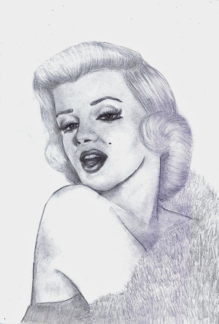 Marilyn Monroe 2 by Nanabananaa.deviantart.com on @DeviantArt