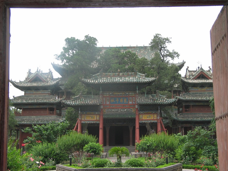 Temple to Guan Yu. One day