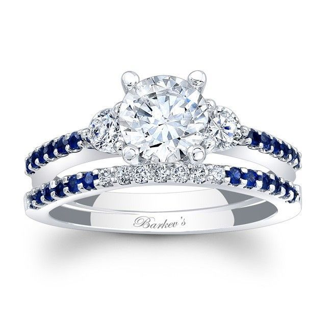 Gotta love the blue in the wedding band