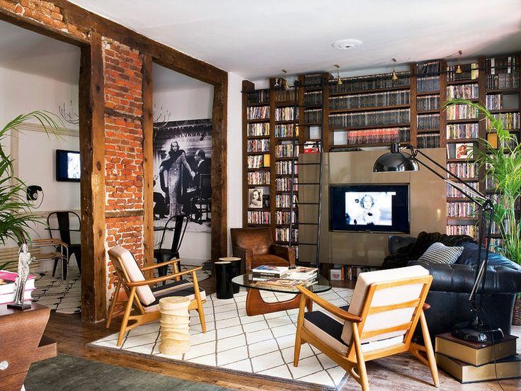 Un piso de cine, la casa de Guillermo Balmori