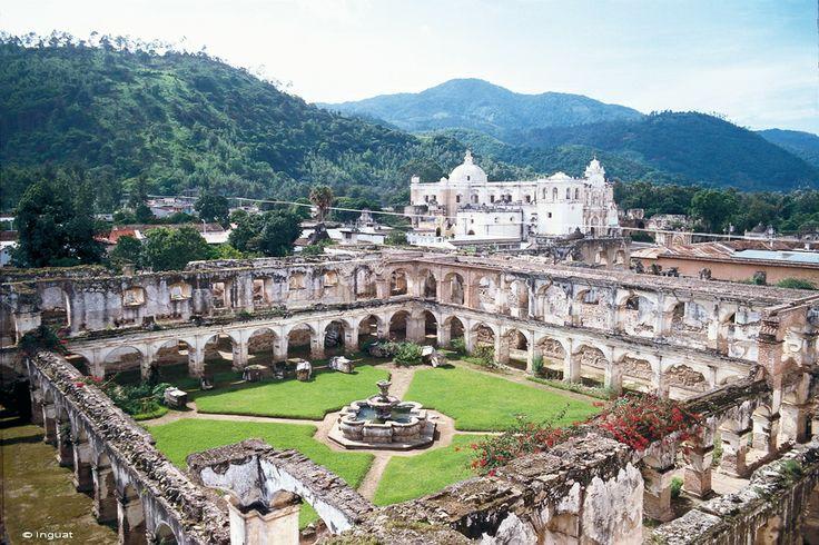 Convento Santa Clara #Guatemala