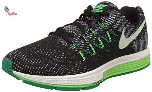 Nike Air Zoom Vomero 10, Chaussures de Running Compétition Homme, Negro / Verde / Blanco (Black / Sail-Lcd Green-Vltg Grn), 41 EU - Chaussures nike (*Partner-Link)