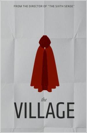 The Village Minimalist Movie Poster