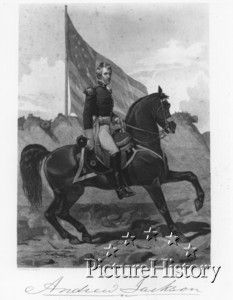 """Picture History : """"Andrew Jackson""""  war of 1812"""