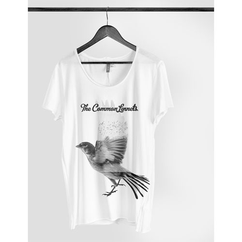The Common Linnets - T-Shirt Dames Wit