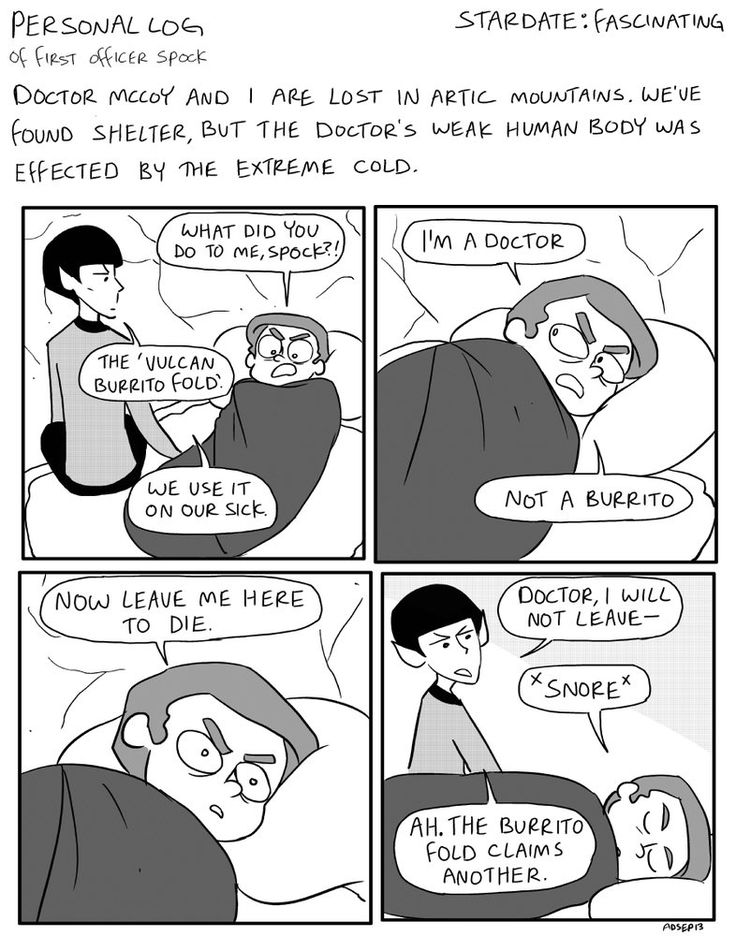Nurse Spock by AnnabelD on DeviantArt