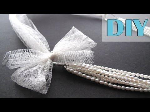 DIY Bridal Jewelry Tutorial - Multistrand Pearls Bridal Statement Necklace - 3 Ways!