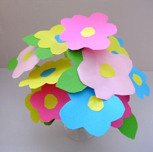 Bouquet de fleurs à réaliser dès 3 ans - Tête à modeler