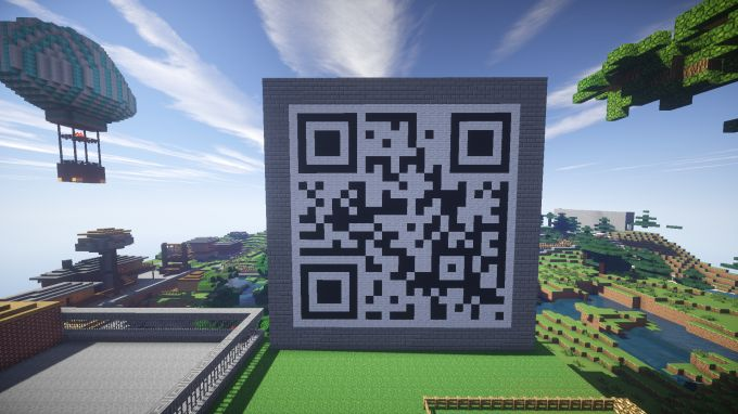 Minecaft - QR Codes - Lesson idea for developing QR Codes within Minecraft, linking to study resources and more.