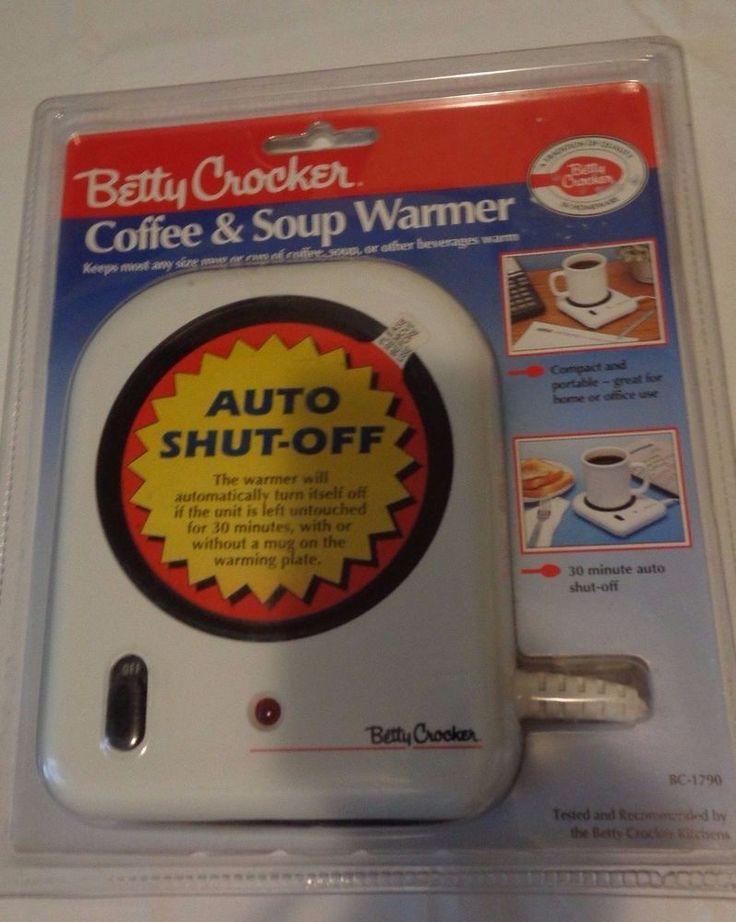 Betty Crocker Coffee & Soup Warmer Portable NEW In Package #BettyCrocker