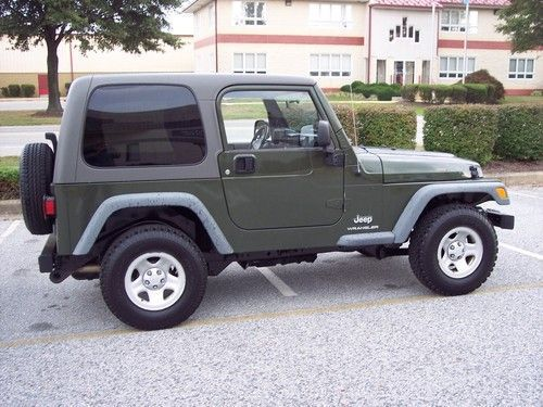 Awesome 2006 Jeep Wrangler 4 Cylinder Photos Jeeps 4x4