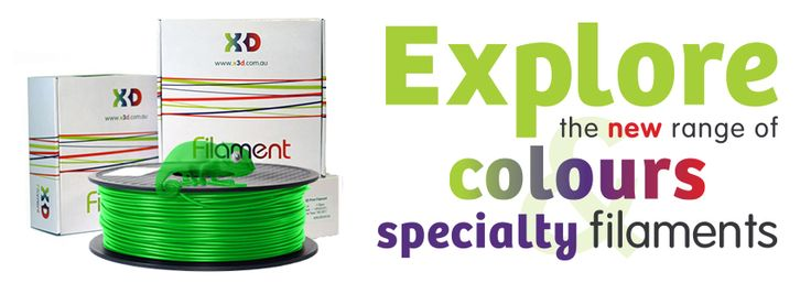 Our new X3D filaments have arrived! To celebrate we have relaunched our #3for2 filament deal this month! #Perth #Perthlife #3Dprinting