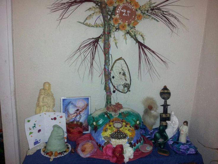 Patheos: A Gallery of Birth Altars (Tasha's 2nd birth altar)