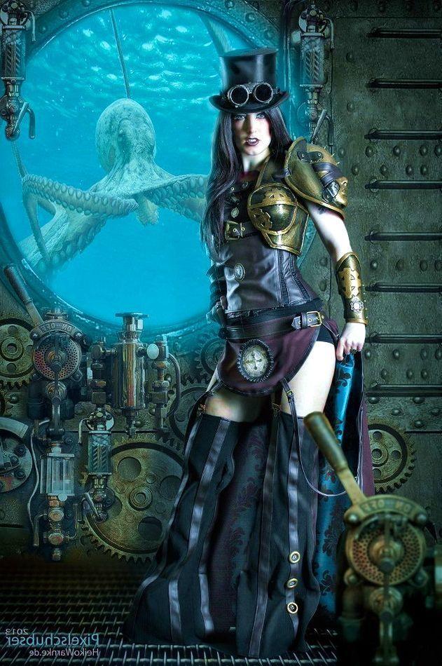 50 Steamy and Intriguing Steampunk Girls - Steampunko