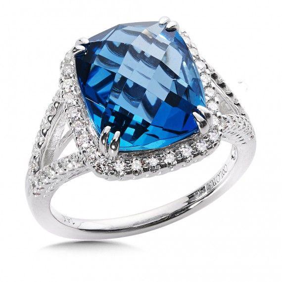 1000 Ideas About Blue Topaz Diamond On Pinterest David