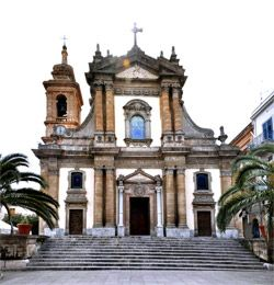 Comune di Partinico - Chiesa Maria SS. Annunziata (Chiesa Madre).  My ancestors baptized, married, laid to rest in this church for centuries.