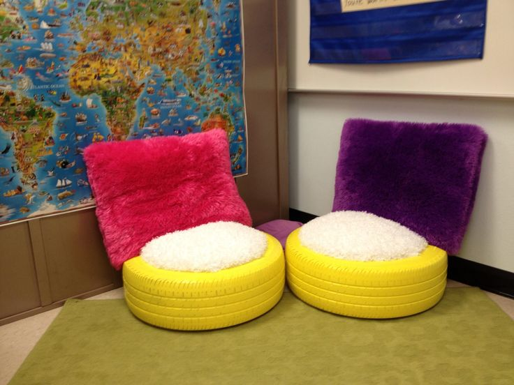 13 best diy tire furniture images on pinterest recycle for Diy tire chair