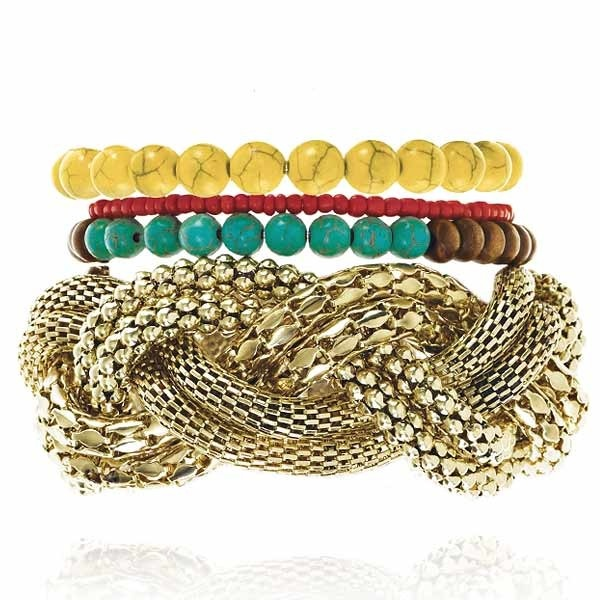 Tusk Sunset Bracelet Set  by Samantha Wills