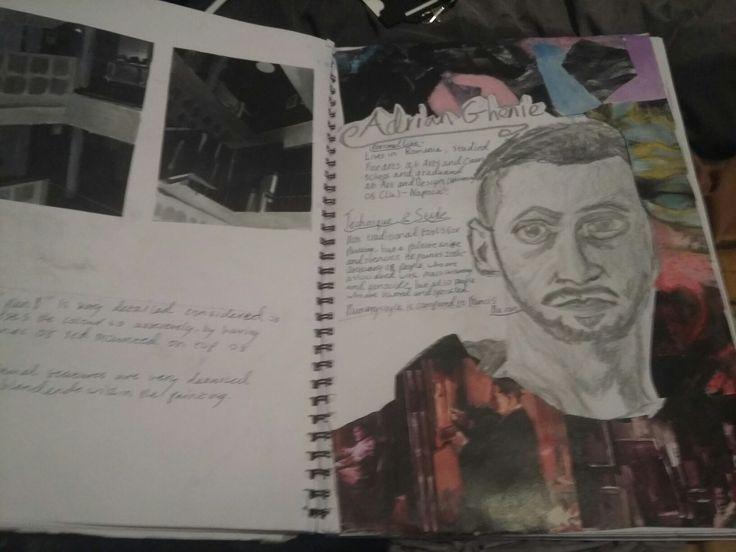 Sketchbook pages 13-14