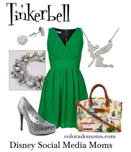Disney Outfit: tinker bell