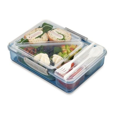 Laptop 7-Piece Bistro Box - BedBathandBeyond.com Perfect for carrying my lunch.