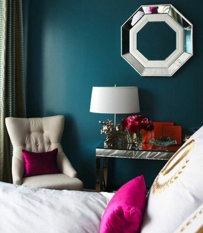 Les 25 Meilleures Id Es Concernant Chambres Bleu Fonc Sur Pinterest Murs Bleu Fonc Murs De
