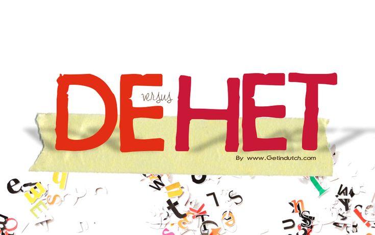 TOUCH this image: DE versus HET by Leslie