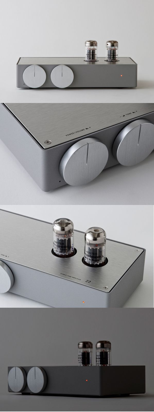 Hybrid Tube Amplifier, designed by Koichi Futatsumata of Case-Real for Elikit.
