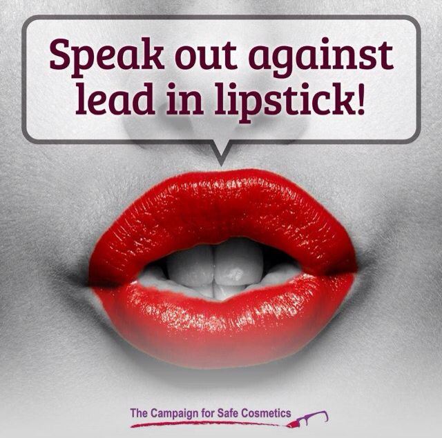 Speak out against lead in lipstick Why would anyone want to use lipstick with lead in it when you can get safer alternatives, totally baffles me Check out my website or like my Facebook page! http://carolineemartin.arbonne.com/ https://m.facebook.com/profile.php?id=1571726939776662&ref=bookmark