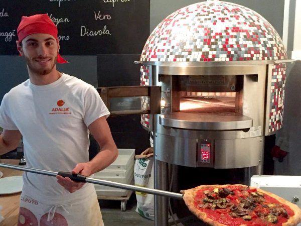 Schlemmen in der Bio-Pizzeria Vero in Wien. Mein erster Beitrag auf The bird's new nest handelt - wie soll es...