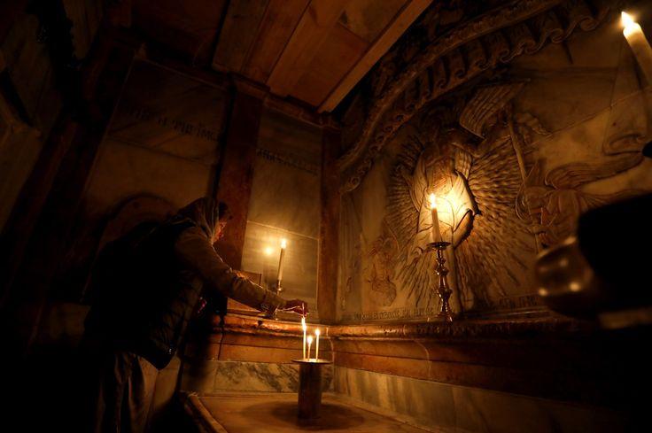 La professeur Antonia Moropoulou a participé à la restauration de la tombe de Jésus, à Jérusalem, en octobre 2016. Lors de cette ouverture historique de la sépulture, pour la première fois depuis deux siècles, elle raconte avoir assisté à un phénomène «que l'on ne peut expliquer».