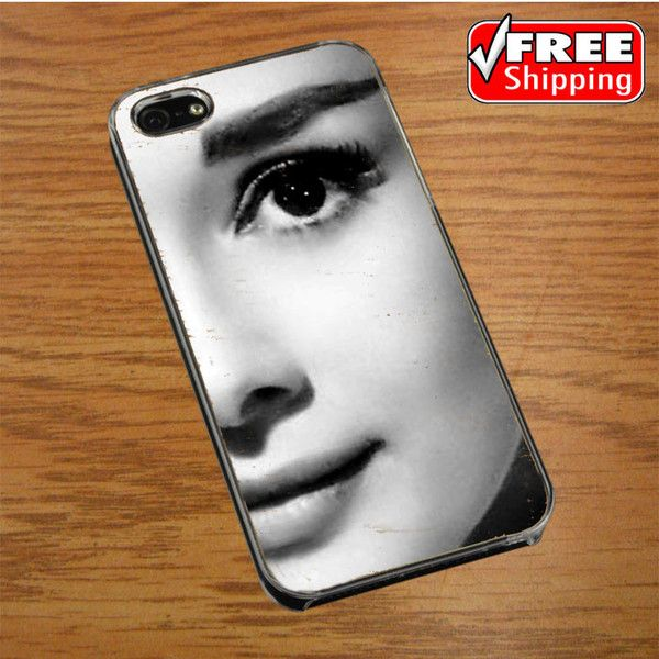 audrey hepburn quote pink eye IPHONE 4 | 4S COVER CASE