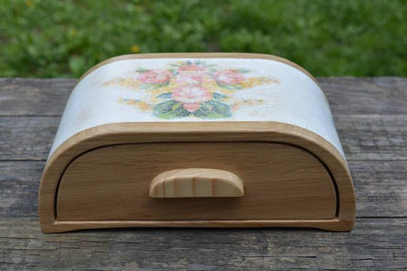 Bandsaw jewelry box mother's day gift decoupage wood box