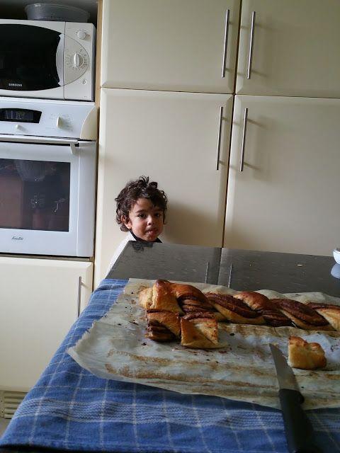 Mes 4 petits boulets : un blog de maman: Tresse au chocolat