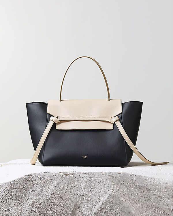 CÉLINE | Fall 2014 -  BELT BAG HANDBAG BLACK SMOOTH CALFSKIN 175523VVA.38NO