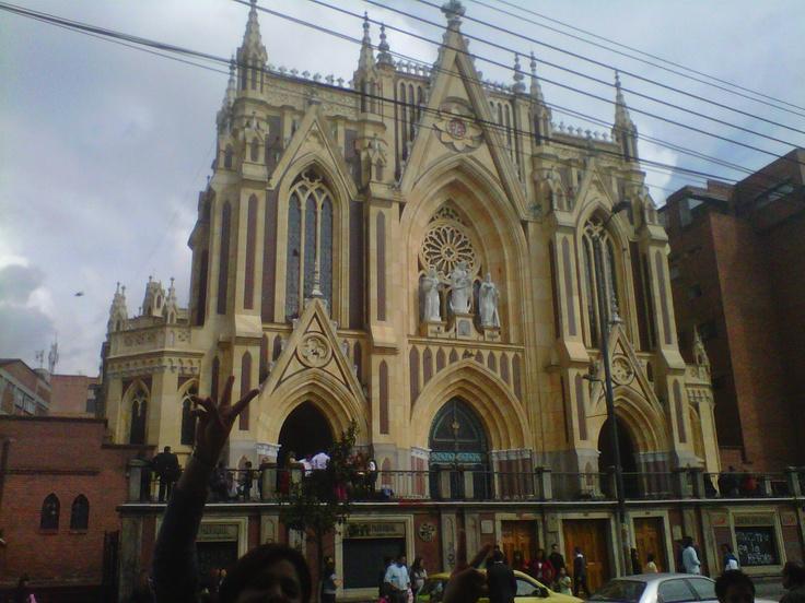 Iglesia de Chiquinquira, Bogota, Colombia