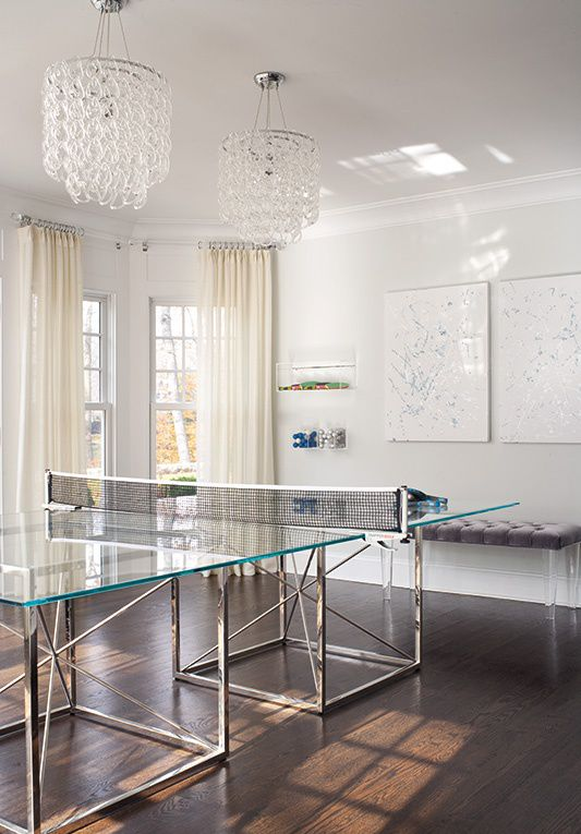 39 best ping pong images on pinterest paddles tennis - How much space for a ping pong table ...