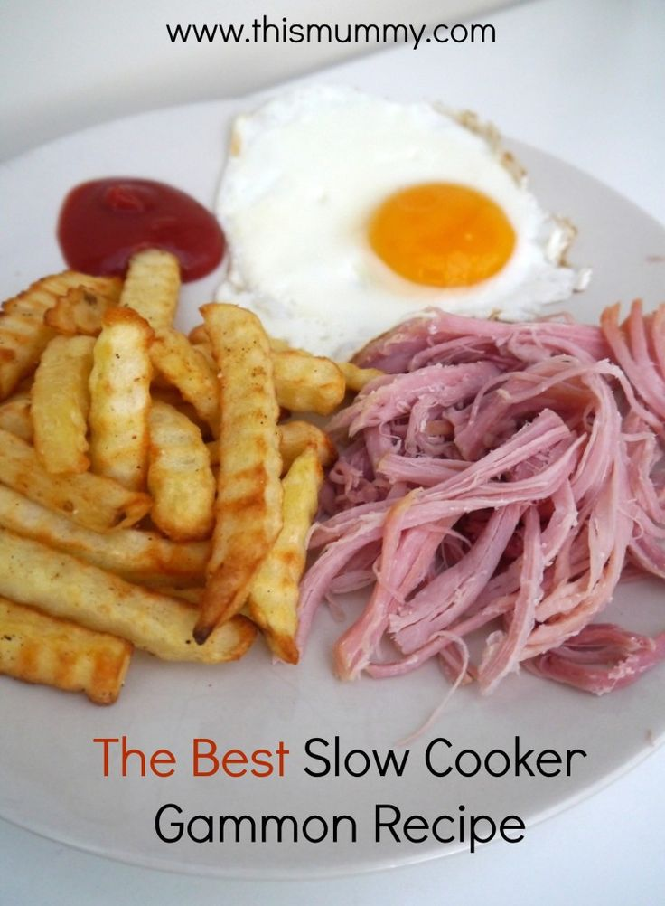 The Best Slow Cooker Gammon Recipe - http://www.mytaste.co.uk/r/the-best-slow-cooker-gammon-recipe-8208212.html