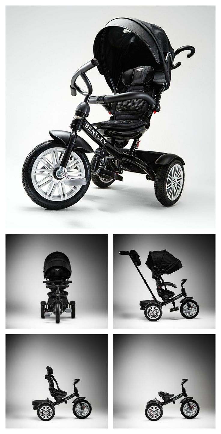 The Bentley 6-in-1 Baby Stroller and Toddler Trike.