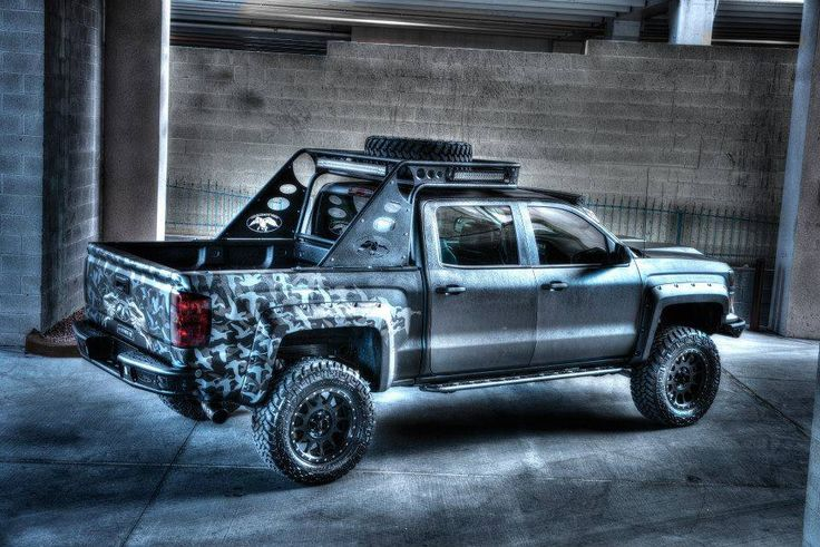 Shop 2014 Chevy Silverado 1500 Chase Racks at ADD Offroad