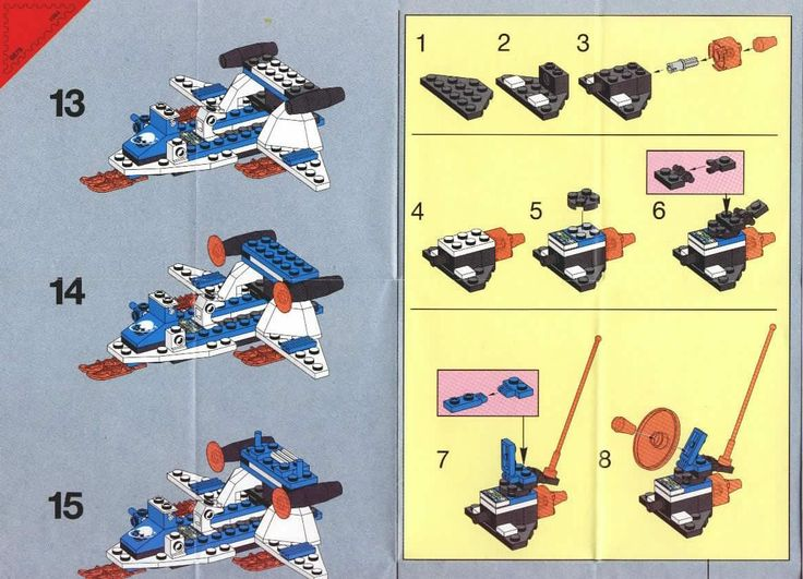 Lego Instruction Image Collections Instructions Examples In English
