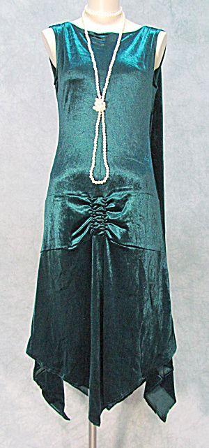 1920s-1930s GATSBY ROARING 20s FLAPPER DRESS PLUS SIZES (Image1)