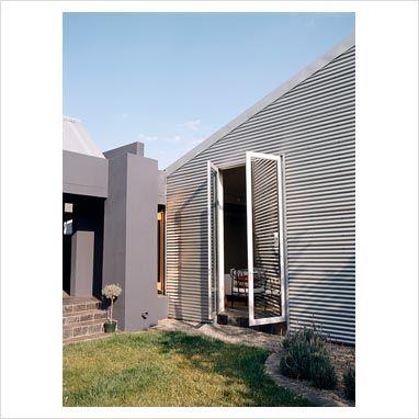 Corrugated Iron Facade   Google Search