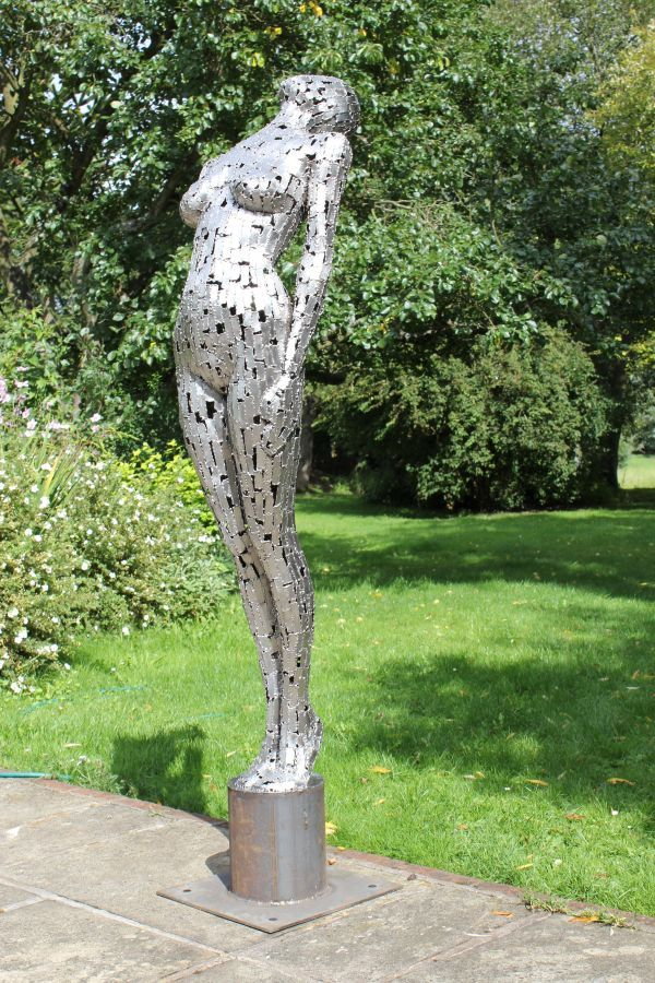 Mild Steel Plate Garden Or Yard / Outside And Outdoor Sculpture By Artist  Rick Kirby Titled