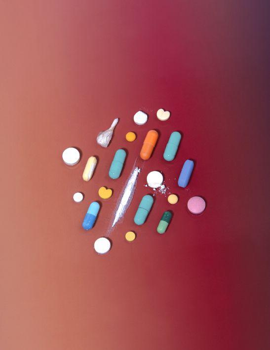 Drug Art - Les Inrockuptibles  - Florent Tanet