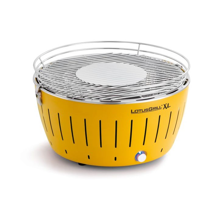LotusGrill XL with Transport Bag Corn Yellow - 10215A