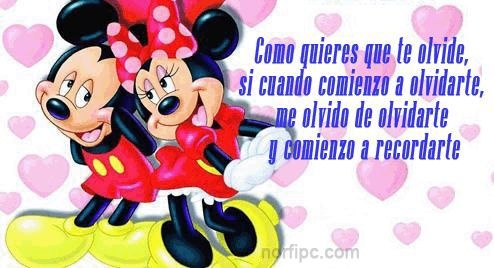 Quote│Amor - #Amor - #Citas - #Frases | Mickey & Minnie Mouse ...
