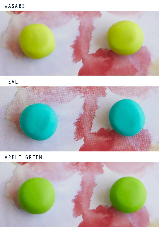 GREEN TONE Studs from Emily Green via The Third Row