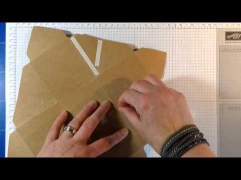 Stampin' Up! Enveloppe Punch Board doosje - YouTube